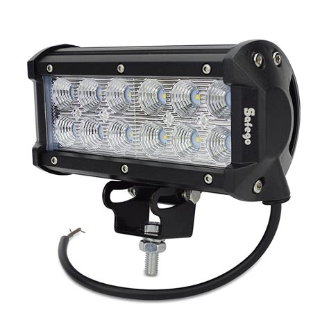 7 Inch Led Light Bar 7inch 36w Cree Led Light Bar Epic Outdoors