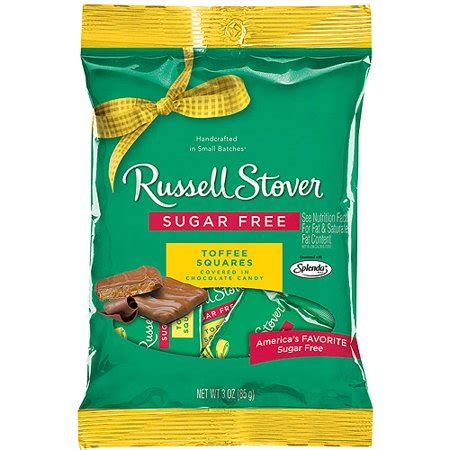 russell stover sugar free toffee squares, 3.0 oz walmart.com