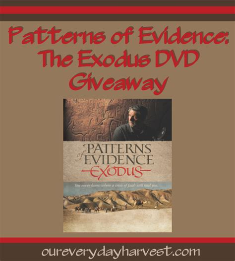 pattern of exodus review where will a crisis of faith lead you patterns of