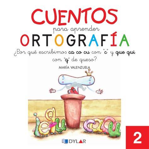 libro pdf para niños cuentos para aprender ortografia ca co cu