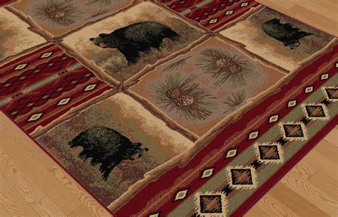Nature Area Rugs Tayse Area Rugs Nature Rug 6570 Red Southwestern Rugs