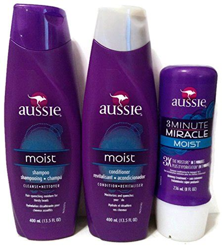 Review Aussie Moist Shoo by Aussie Moist Shoo And Conditioner 13 5 Ounce Each