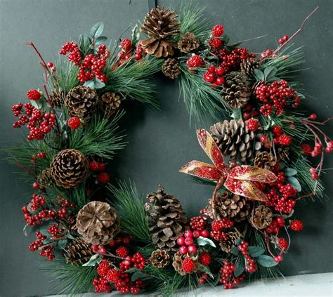 84 best wreaths images on pinterest christmas