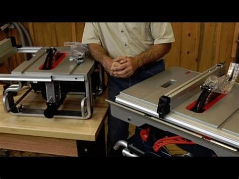 woodworking table saw reviews table saw buying advice
