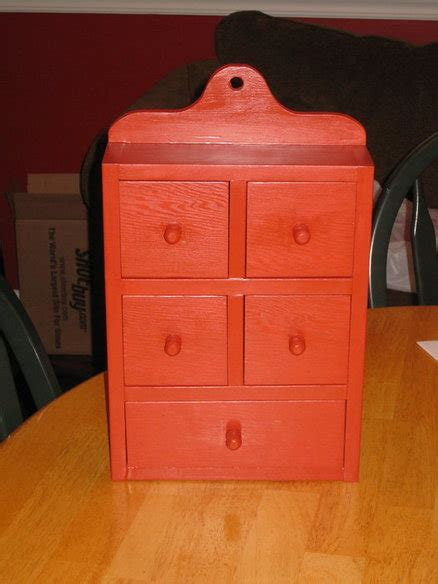 Small Spice Cabinet By Yooper Lumberjocks