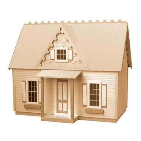 Home Hardware Cottage Kits by Cottage Jr Dollhouse Kit 94588 The Home Depot