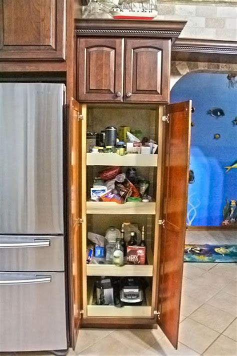 advantages from kitchen pantry cabinets allstateloghomes com bridgewood advantage cherry wood cherry mahogany finish