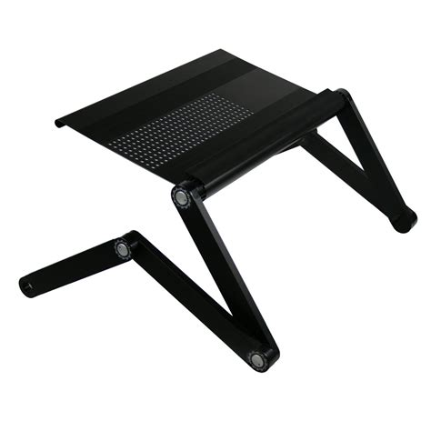 furinno adjustable vented laptop table laptop computer desk portable bed tray ebay