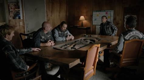 Sons Of Anarchy Meeting Table Sons Of Anarchy Kevin Gage