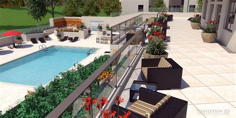 3d Home Architect Home Design Software by Deck And Patio Architectural Renderings From Castleview3d Com
