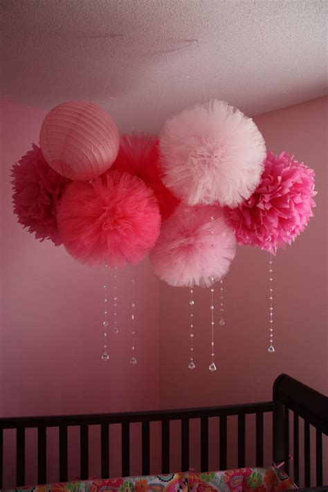 How To Make Tulle Pom Pom Decorations by 25 Best Ideas About Tulle Poms On Tulle