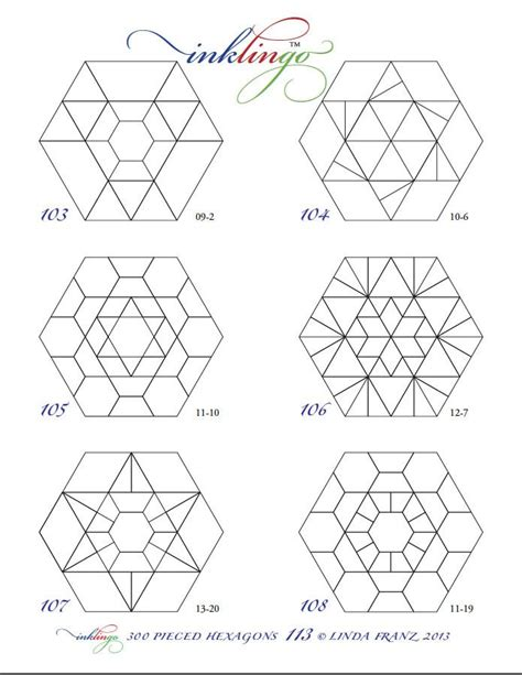Hexagon Shapes For Quilting by 1000 Images About Paper Piecing On