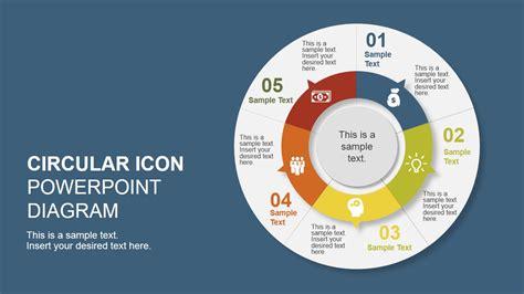 diagram designer templates 5 step creative circular diagram design for powerpoint