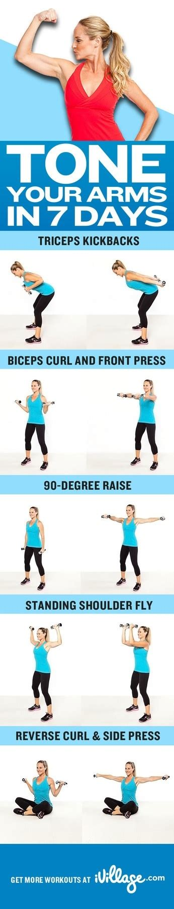 toned arms workout time