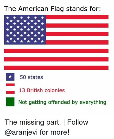 American Flag Meme - 25 best memes about offended by everything offended by