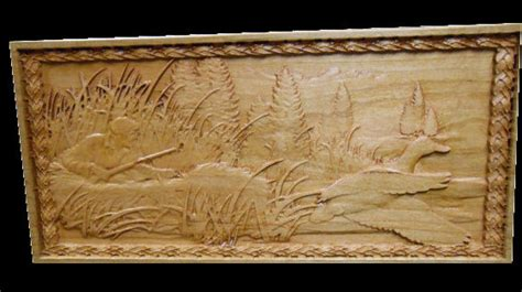 duck hunting home decor home decor duck hunting wildlife scene relief carved into