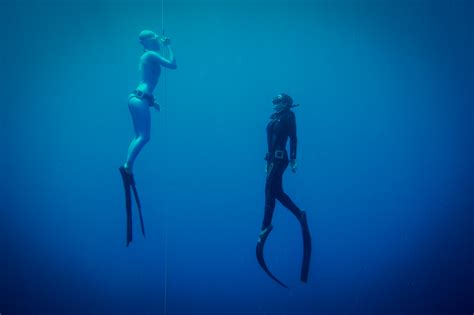 beginner freediving course desert divers