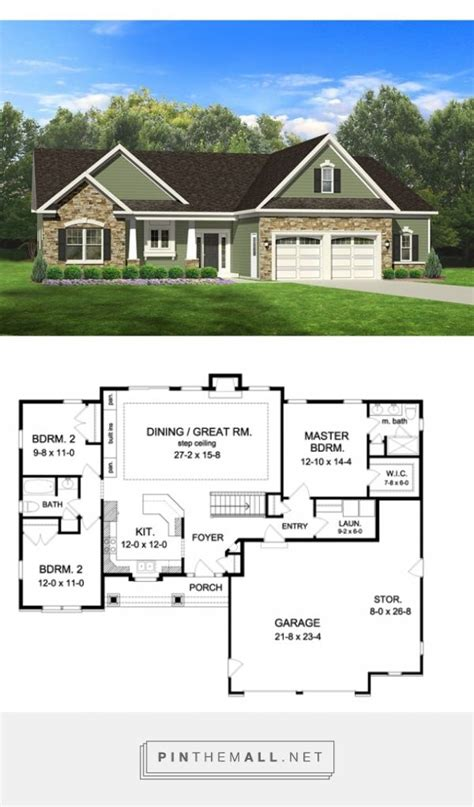 best ranch floor plans the 25 best ranch style floor plans ideas on