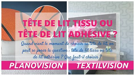 Tete De Lit Adhesive by T 234 Te De Lit Tissu Ou T 234 Te De Lit Adh 233 Sive Que Choisir