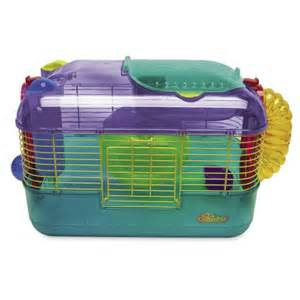 superpet crittertrail one hamster cage feedem