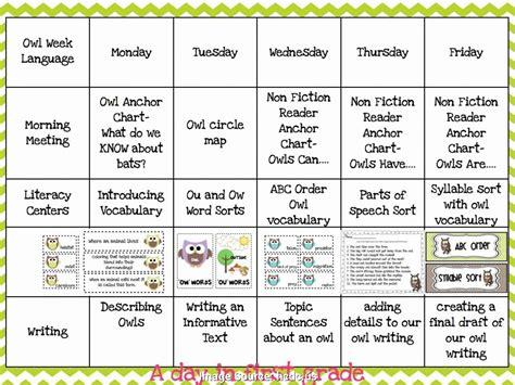 weekly lesson plan template blank preschool templates planner unit