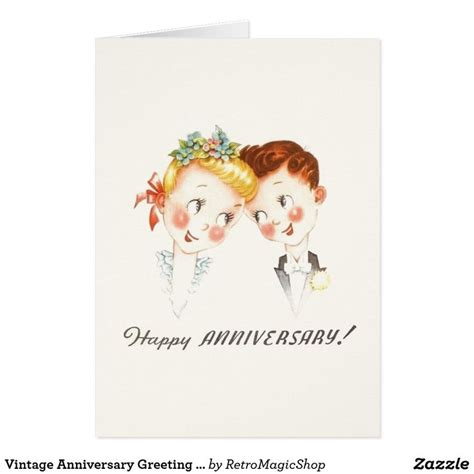 Wedding Anniversary Cards Vintage by 54 Best Vintage Anniversary Cards Images On