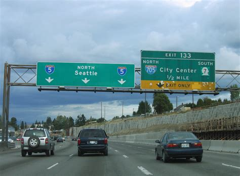 Washington @ AARoads - Interstate 5 North - Pierce County I 5 Exit 71 In Washington State