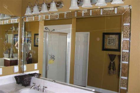 border for bathroom mirror custom mirrors transform any space sans soucie glass