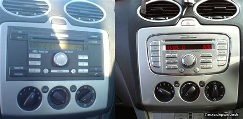 Frame Ford Focus 2006 ford focus mk2 to mk2 5 stereo conversion