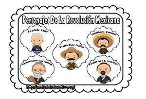 imagenes de la revolucion mexicana en color bonitos dise 241 os de personajes de la revoluci 243 n mexicana