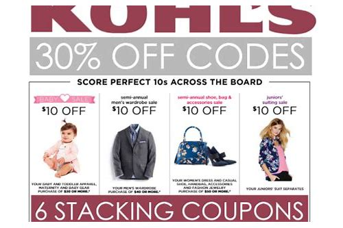 kohls coupons june 2018 30 off