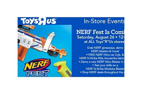 nerf coupon toys r us