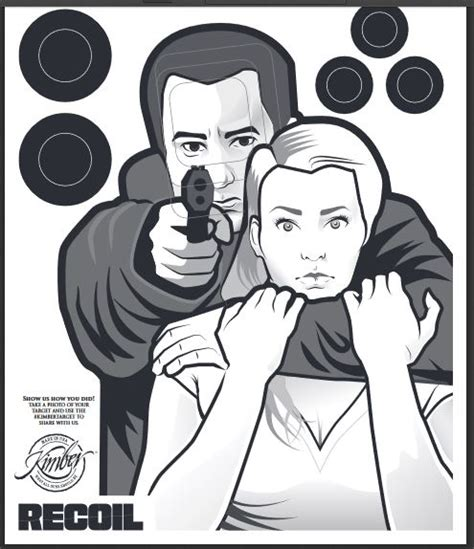 printable bad guy targets hostage targets pinterest target guns and shooting