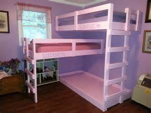 How To Make A Bunk Bed Pallet Bunk Bed Plans Recycled Things