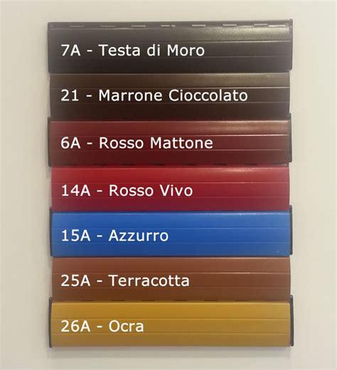 persiane alluminio coibentate foto colori tapparelle in alluminio