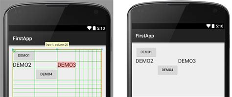 gridlayout match parent c 243 mo crear layouts en android