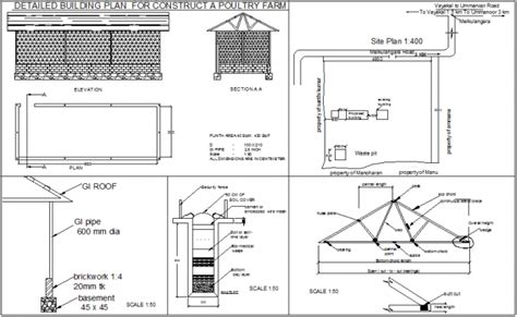 Poultry Farm Floor Plan