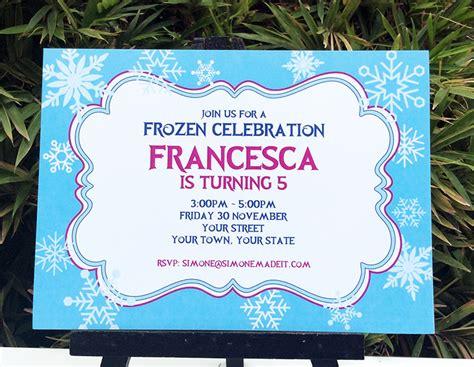 frozen birthday invitation template frozen birthday printable templates frozen theme