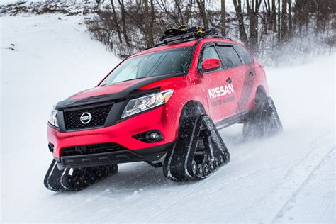 nissan winter warrior concepts pictures auto express
