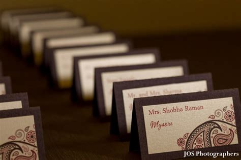 table name cards for wedding reception lakeside indian wedding reception by jos photographers