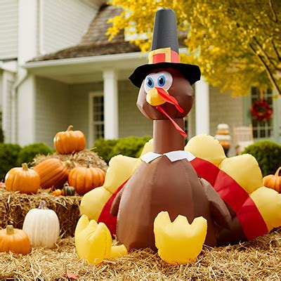 Home Depot Lawn Decorations Fall Harvest Decorations At The Home Depot