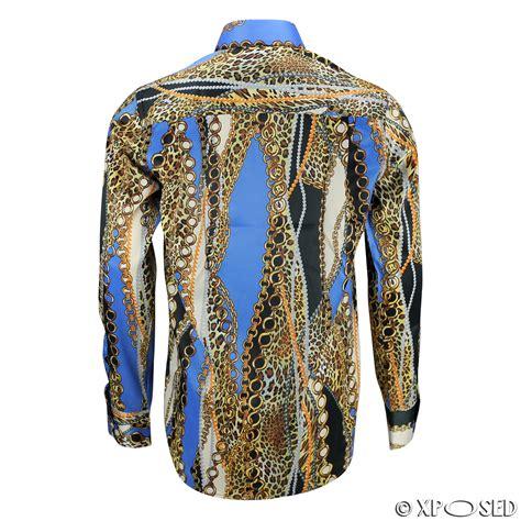designerst hle mens italian designer style shirt smart casual silk