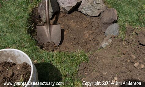 how to dig a fire pit in your backyard cheap easy fire pit from some stones and a shovel