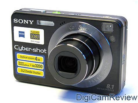 Kamera Sony Cybershot W 130 digicamreview sony cybershot dsc w130 digital