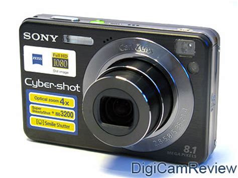 Kamera Sony Cybershot W 130 digicamreview sony cybershot dsc w130 digital review