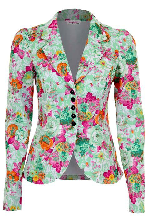 Blezer Flower flower blazer womens baggage clothing