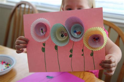 crafts flower toddler approved simple flower craft