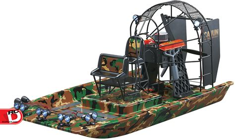 air boat rc aquacraft cajun commander brushless scale airboat rtr