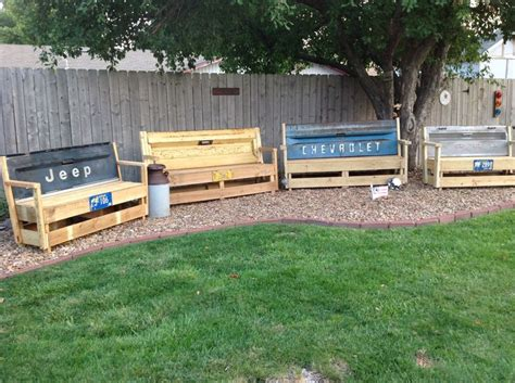 tailgate bench for sale tailgate benches for sale jc creations pinterest for