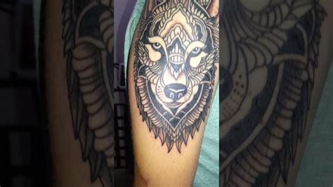 mandala tattoo youtube lobo mandala tattoo youtube